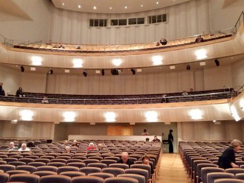 シドニーCity-Recital-Hallの座席の配列