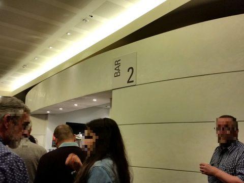シドニーCity-Recital-Hallの上階のBar