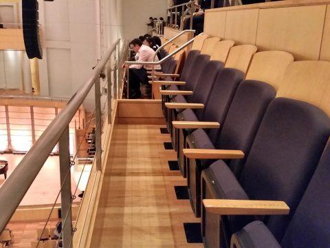 シドニーCity-Recital-Hallのバルコニー席