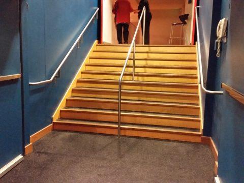 シドニーCity-Recital-Hallの客席へ入る階段