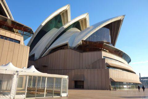 シドニーオペラハウスの外観