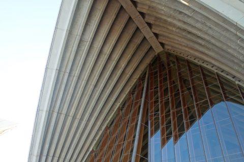シドニーオペラハウス外観を近くで見る