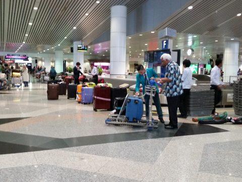 クアラルンプール国際空港の荷物受取レーン