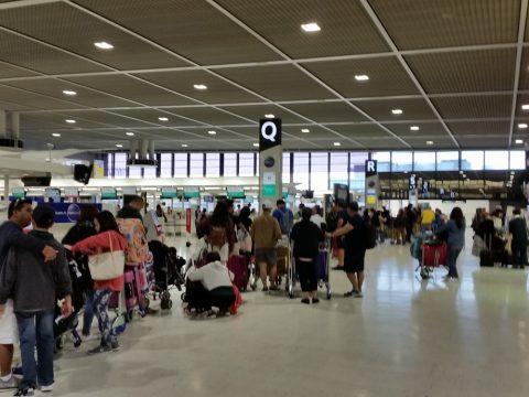 成田空港Qカウンター