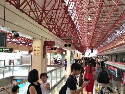 Jurong-East駅