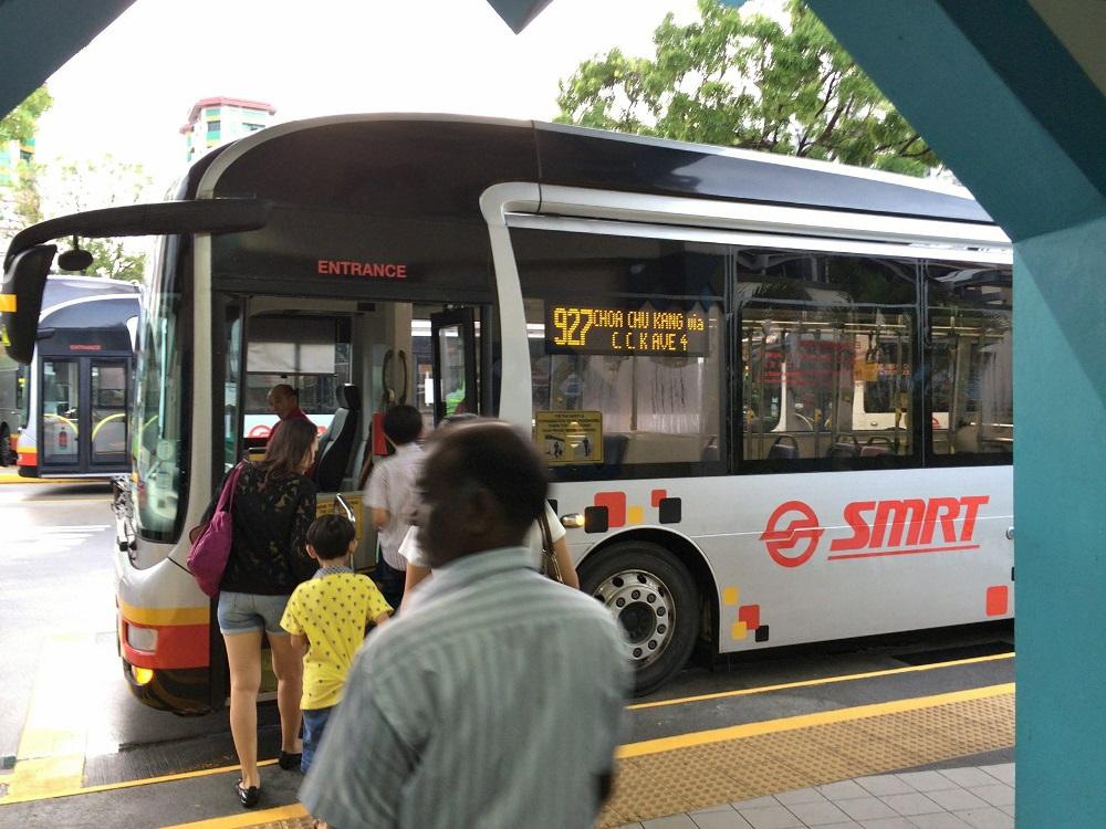 「ナイトサファリ」アクセスの別ルート927番バスを利用してみた!