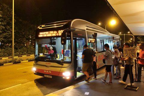 「ナイトサファリ」アクセスの別ルート927番バス