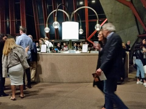 シドニーオペラハウスのBarカウンター