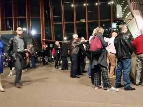 シドニーオペラハウスのホワイエ