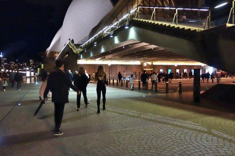 シドニーオペラハウス大階段
