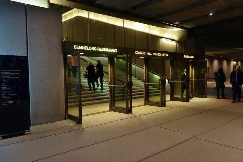 シドニーオペラハウスの高級レストランに行ける階段