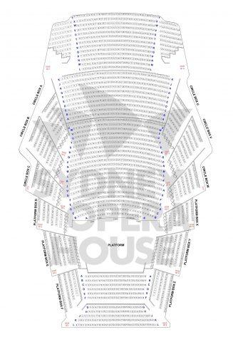 シドニーオペラハウス座席図