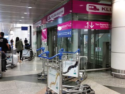 クアラルンプール国際空港エレベーター