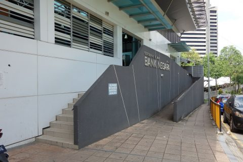 Bank-Negara駅