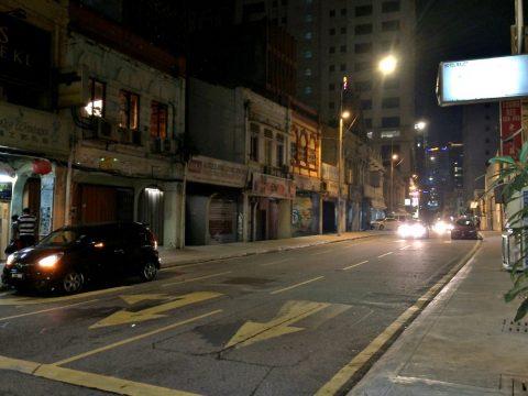 クアラルンプール・チャイナタウンの夜