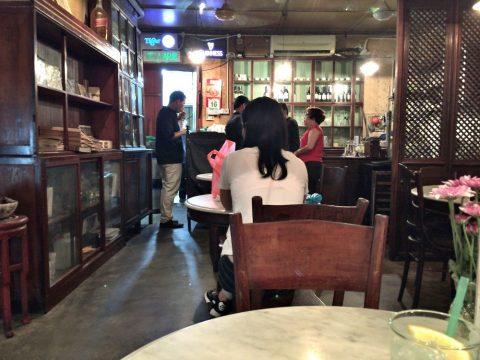 オールドチャイナカフェOLD CHINA CAFEの店内
