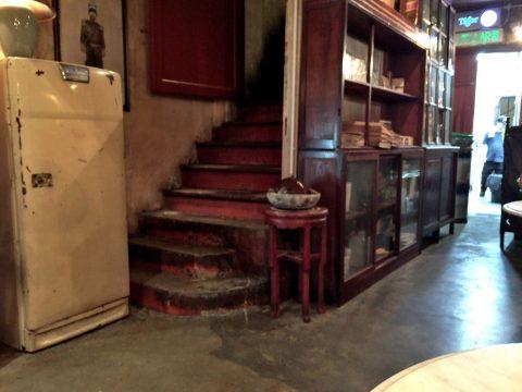 オールドチャイナカフェOLD CHINA CAFEの2階席