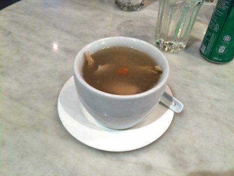 オールドチャイナカフェOLD CHINA CAFEのスープGinseng Chicken