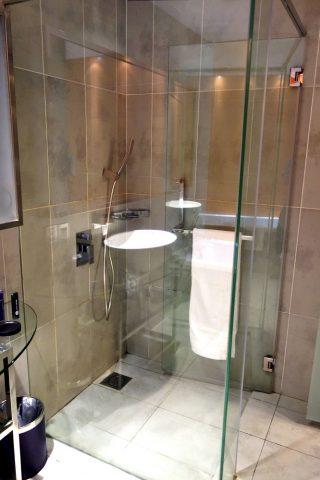 プルマン・クアラルンプール・バンサーのシャワールーム
