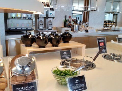 成田空港サクララウンジ(サテライト)朝食メニュー