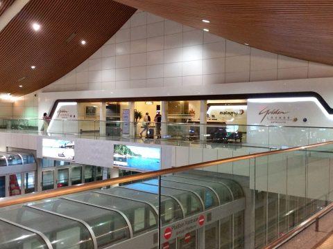 クアラルンプール国際空港ゴールデンラウンジサテライト入口