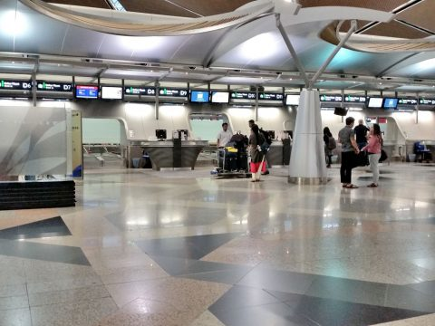 クアラルンプール国際空港プライオリティカウンター