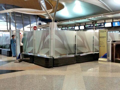 クアラルンプール国際空港ファーストチェックイン