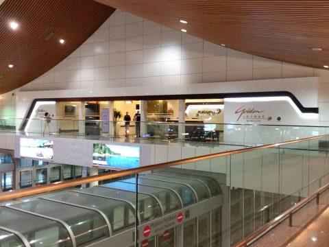 マレーシア航空ゴールデンラウンジサテライト入口