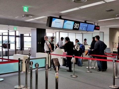 成田空港93番搭乗口