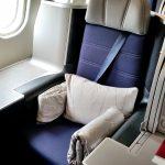 マレーシア航空A330ビジネスクラス搭乗記!成田~KL①広々シートとCAのサービス