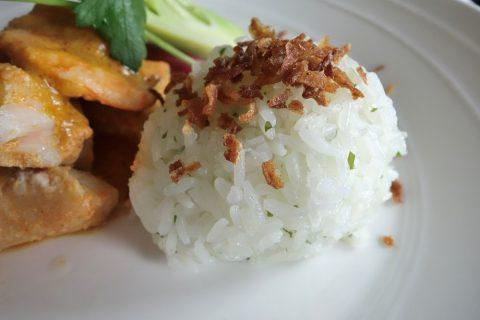マレーシア航空A330ビジネスクラスSeafood-Coconut-Curry