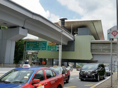 semantan駅タクシー