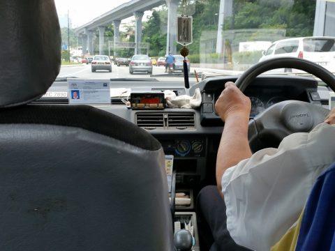 マレーシアのバジェットタクシー