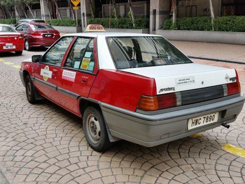 マレーシアのバジェットタクシーでKLセントラルへ