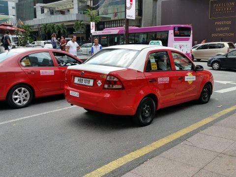 マレーシアのバジェットタクシーは安い