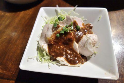 宮古島のダイニングバーBernie's-Dining冷やし鶏の宮古みそ