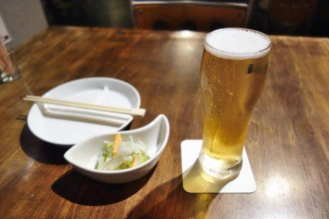 宮古島のダイニングバーBernie's-Diningの生ビール
