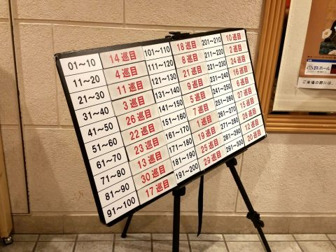 HKT48-チケット整理番号