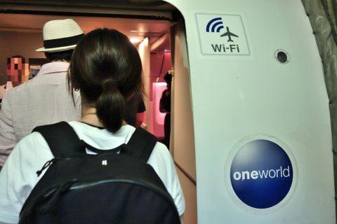JALのWi-Fi機材767