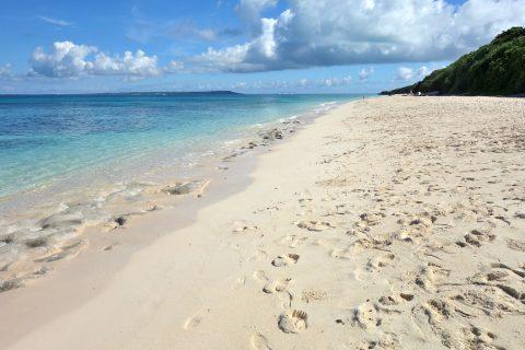 来間島の長間浜ビーチ