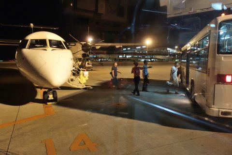 琉球エアコミューターRAC/DHC8-Q400CCを体験