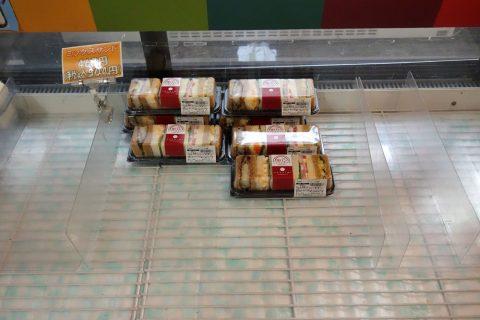 福岡空港BLUESKY8番ゲートショップにあるサンドイッチ
