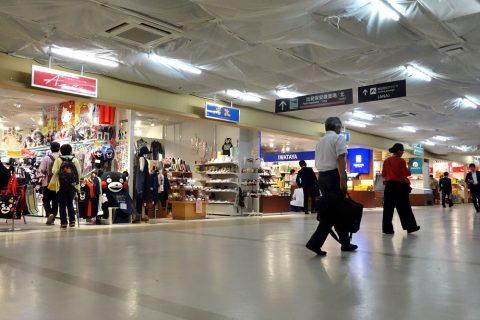 福岡空港ターミナルのショッピング