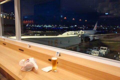 福岡空港サクララウンジの居心地