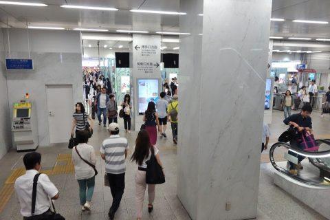 JR博多駅構内