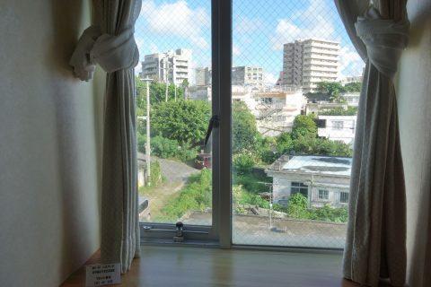 ホテル共和エコノミーシングルの眺望