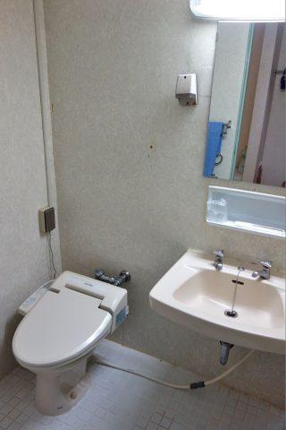 ホテル共和エコノミーツインのトイレ