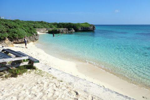 池間島フナクス(池間ブロック)の美しいビーチ