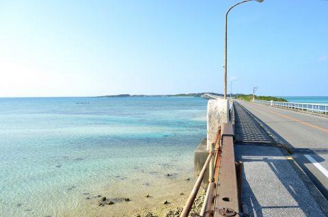 池間大橋の美しい海