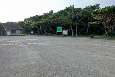 伊良部島/牧山展望台の駐車場
